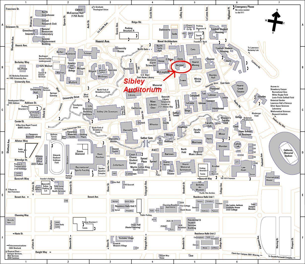 Abolhassan Astaneh-Asl, Professor, Univ. of California ... Uc Davis Campus Map Printable